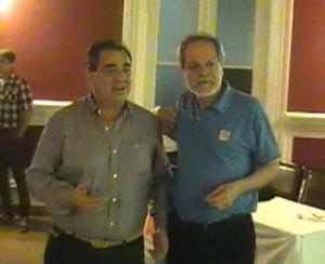 Abogado Juan Carlos Acuña e Ing. Daniel Leiva