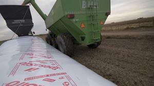 carga y extracción silo bolsa