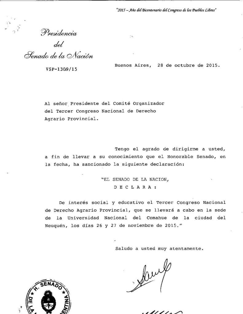 DECLARACION DE INTERES CONGRESO AGRARIO (1)