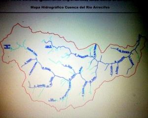 Red Hidrográfica CUENCA RIO ARRECIFES