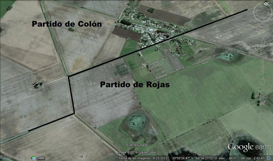 ARBOLITO PDO DE COLON Y AREA RURAL PDO DE ROJAS