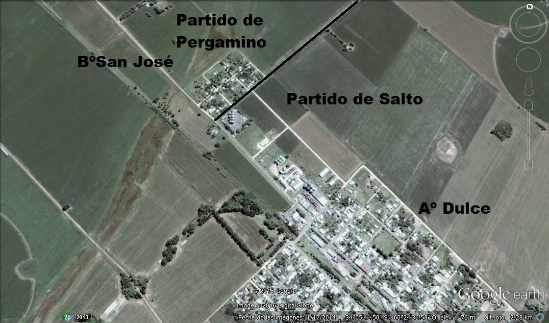 BARRIO SAN JOSE PERGAMINO- Aº DULCE SALTO